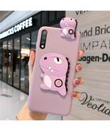 Fusovon Silicone phone case for Huawei cute dinosaur mirror series - $8.99