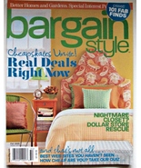 Better Homes & Garden Back Issue Bargain Style ... - $6.99