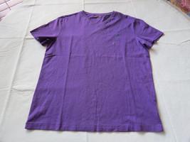 Men's Polo Ralph Lauren v neck T shirt soft M 661005 Classic Violet purple - $49.49
