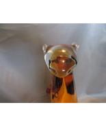 Fifth Avenue Crystal Ltd Glass Cheetah Figurine Statue Collectible  - $89.00
