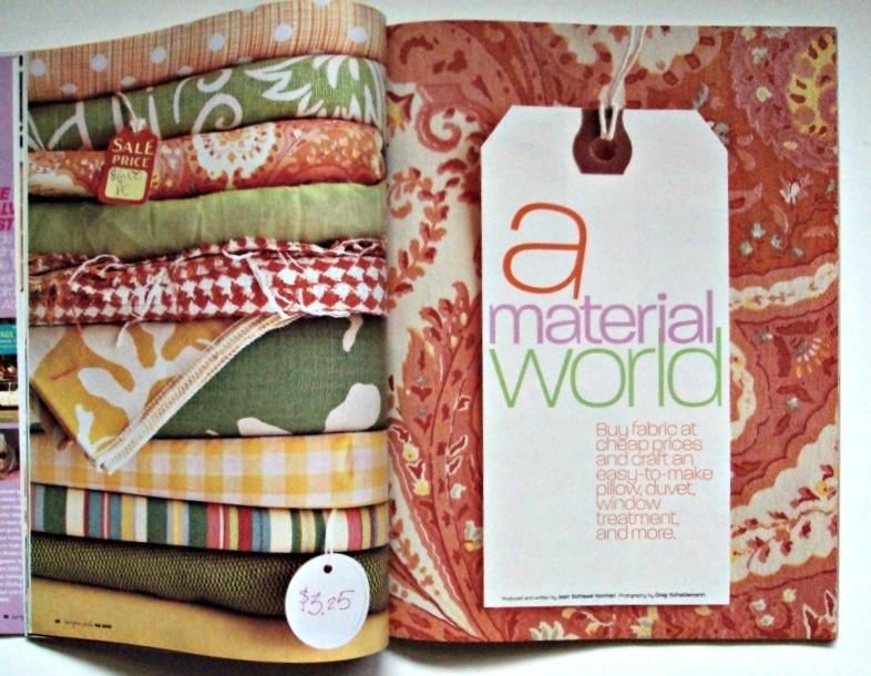 Better Homes & Garden Back Issue Bargain Style Magazine 2005