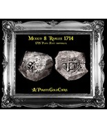 """MEXICO 8 REALES 1714 """"DATED!"""" SILVER COB PEDIGREE 1715 PLATE FLEET SHIPW... - $1,450.00"""