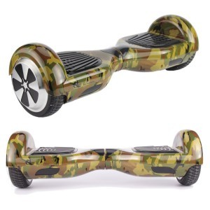 Camouflage Hoverboard Bluetooth Two Wheel Balance Scooter Free Fast Shippin