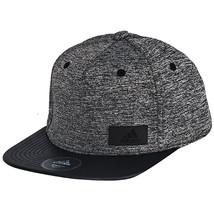 Adidas 2016 Flat-Brim Snap-Back Cap Gray/Black AY4912 - $32.99