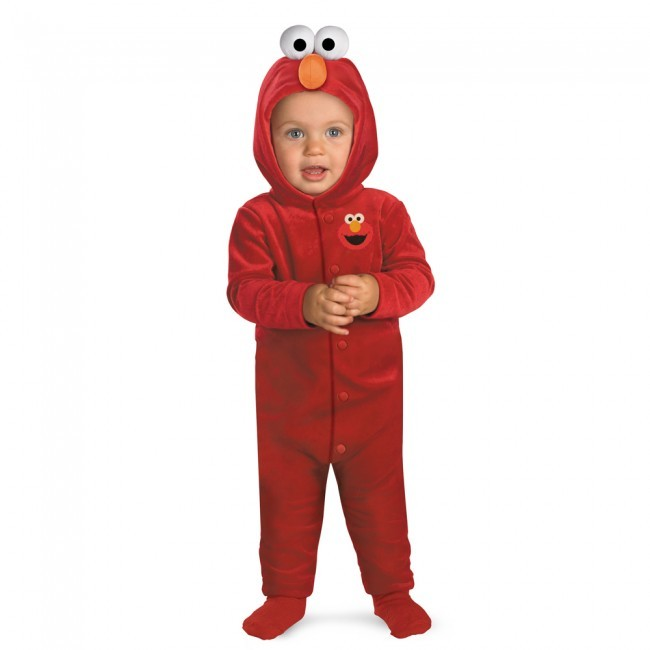 Elmo Sesame Street Infant Child Costume 12-18M