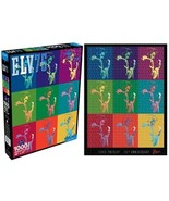 Elvis Presley 75th Anniversary 1000 Piece Jigsaw Puzzle NEW SEALED - $15.47