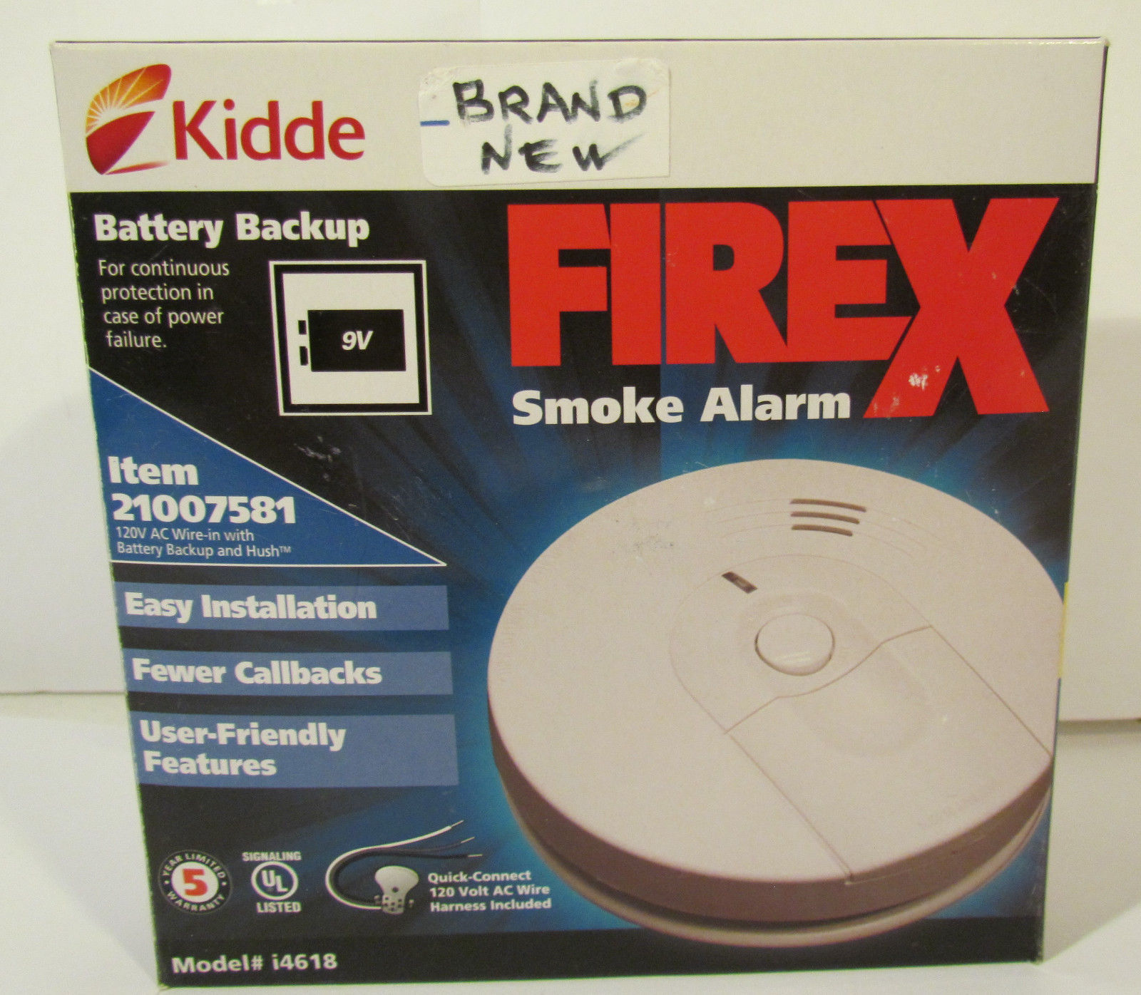 Kidde Battery Backup Firex Smoke Alarm Item And 50 Similar Items