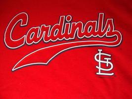 MLB St. Louis Cardinals Major League Baseball Fan Apparel T Shirt Size XL - $13.55