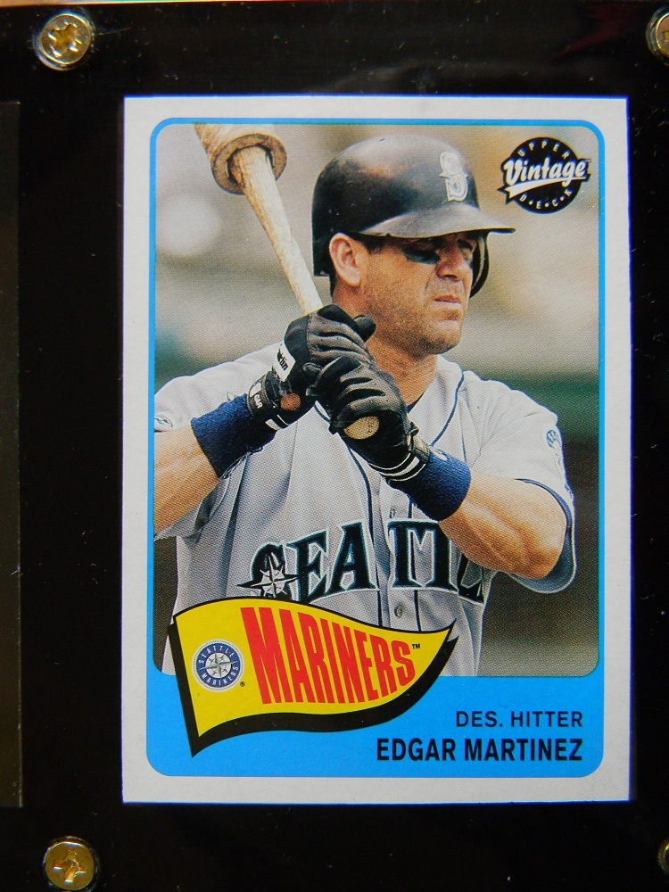 EDGAR MARTINEZ SET OF 4 CARDS SEALED MINT CONDITION