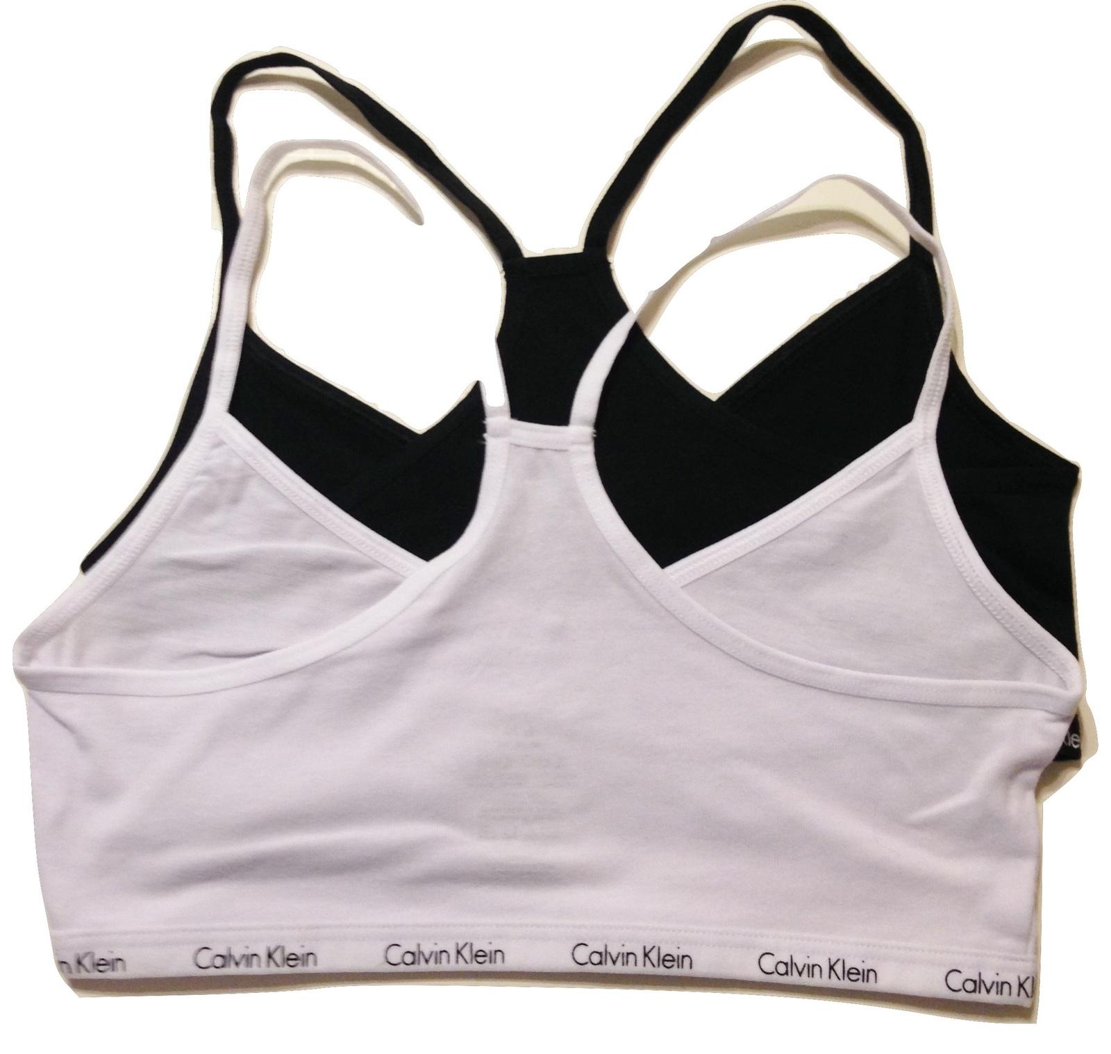 dd179429e5baf Calvin Klein Girls Crop Bras White Black S and 37 similar items