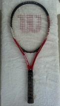 Wilson Titanium Impact Tennis Racket/with FREE Can of Penn Balls - $15.00