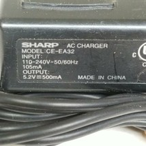 Sharp CE-EA32 AC Charger Adapter Output 5.2V 500mA - $17.27