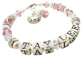 Princess Tiara Rhinestone Girl's Bracelet with ... - $43.50 - $58.50
