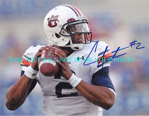 CAM CAMERON NEWTON AUTOGRAPHED 8x10 RP PHOTO AUBURN HEISMAN AWESOME
