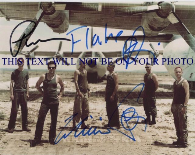 RAMMSTEIN SIGNED AUTOGRAM 8x10 RP PHOTO PAUL TILL RICHARD OLLIE CHRISTOPH FLAKE