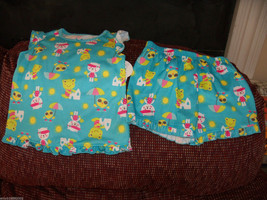 Carter's  2 Piece Fun in the Sun Pajama's Size 4T Girls NEW HTF - $32.99