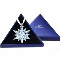Authentic Swarovski 2017 Annual Edition Christmas Snowflake Ornament-RRP $79 - $36.93