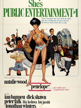 Penelope Natalie Wood Retro Vintage Movie 32x24... - $13.95