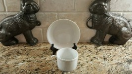 Fitz & Floyd White Classic Cup and Saucer set - $5.93