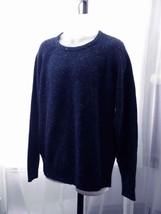 Weatherproof Vintage Acrylic Blend Indigo Tweed Crewneck Pullover Sweate... - $19.99