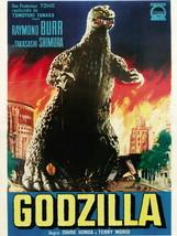 Godzilla Raymond Burr Movie 24x18 Wall Print POSTER - $9.95
