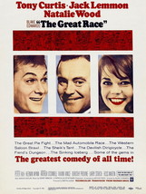 The Great Race Natalie Wood Movie Vintage 24x18... - $9.95