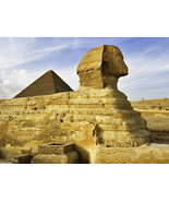 The Great Sphinx Pyramid Giza Egypt 32x24 Print Poster - $13.95