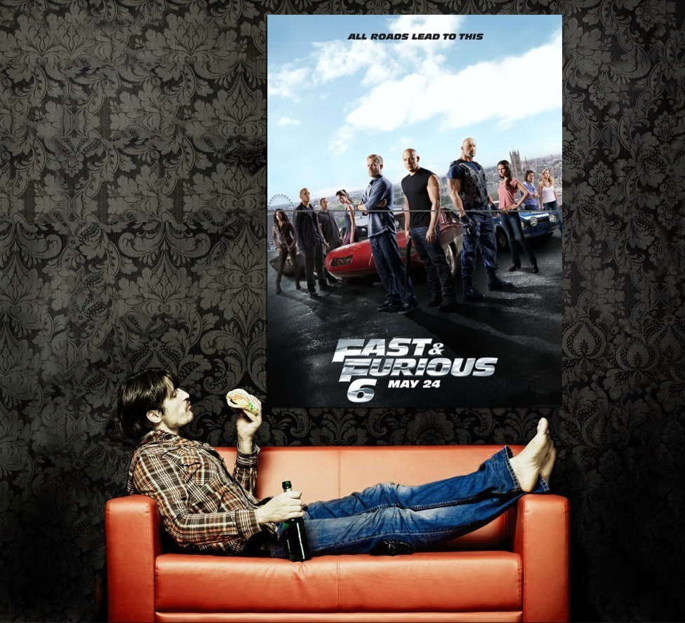 Fast and furious 6 poster 2013