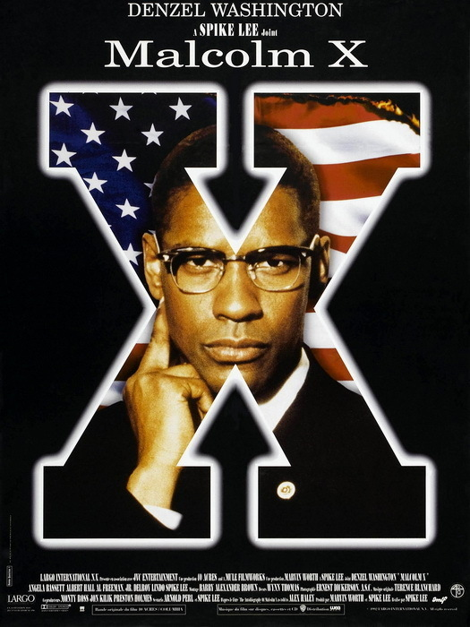 Malcolm X Denzel Washington Movie 32x24 Print Poster Posters