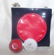 ELF Essential Lip Balm Tint Sheer 22133 Grapefruit Gloss + Estee Lauder Bag - $19.99
