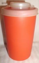 Tupperware 102 ORANGE Spice Shaker with Sheer Seal # 634 - $19.99
