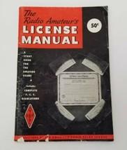 The Radio Amateur's License Manual American Radio Relay League 1960 Stud... - $14.16