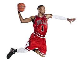 Chicago Bulls Basketball Derrick Rose Sport 24x... - $9.95