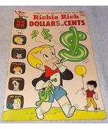 Harvey Comic Book Richie Rich Dollars and Cents No 31 FN 1969 Issue - $5.95