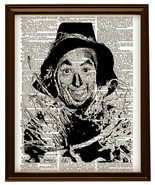 The Scarecrow from the WIZARD of OZ Dictionary Art Print No. 0048 - $12.00