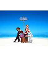 Bus Stop Cool Anime Art 24x18 Print Poster - $9.95