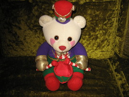"""Christmas Avon collectable plush soldier drummer teddy bear about 13"""" si... - $22.99"""