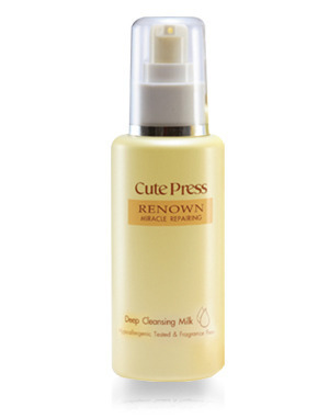 CutePress Thai Cosmetic Renown Miracle Repairing Deep Cleansing Milk