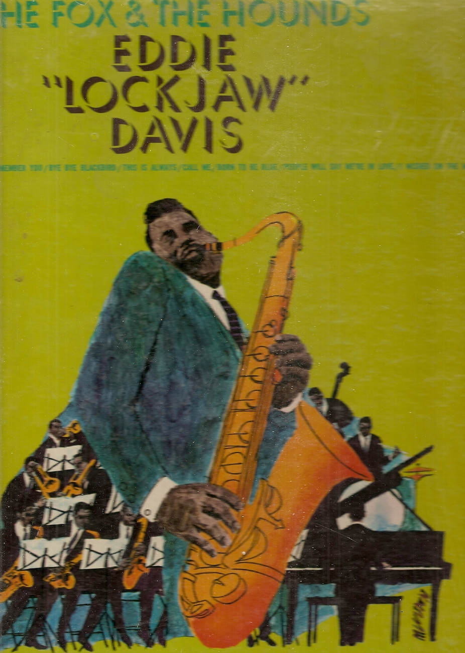 LP--Eddie Lockjaw Davis 	-	 Fox And The Hounds