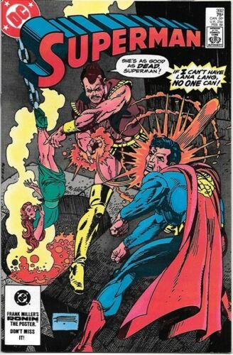 Superman Comic Book #392 DC Comics 1984 VERY FINE/NEAR MINT NEW UNREAD
