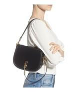 Marc Jacobs M0015083 The Saddle Smooth Leather Shoulder/Crossbody Bag in Black - $379.00