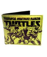 TEENAGE MUTANT NINJA TURTLES LOGO SUBLIMATED GRAPHIC PRINT MENS BIFOLD W... - $16.10