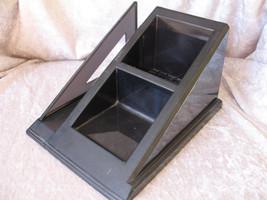 "Rubbermaid Desktop Organizer Black Heavy Duty Acrylic 4-1/4"" x 7-1/2"" x ... - $13.91"