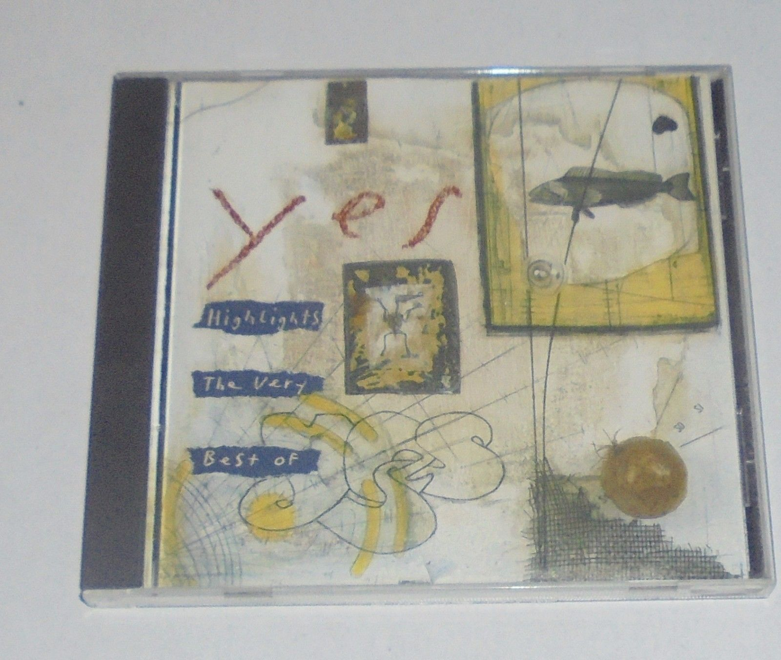 Highlights: The Very Best of Yes by Yes (CD, Sep-1993, Atlantic (Label))
