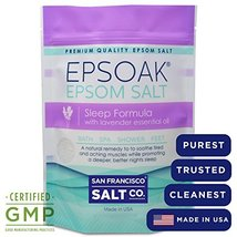 Ultimate Epsoak Epsom Salt Bundle 3 pack of Sle... - $26.82