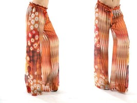 NWT $172 DA-NANG WIDE-LEG FLOWING SILK CHIFFON ... - $106.20
