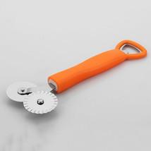 3 in1 Pizza Wheel Cutter Cake Knife Bottle Open... - $2.81