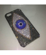 Rhinestone iPhone 6s iPhone 7 Case Grey Evil Eyes iPhone 6/7/8 iPhone X ... - £17.90 GBP+