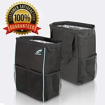 Best Car Trash Can for Litter with 30 Free Liners Leakproof Odor Proof B... - $21.96