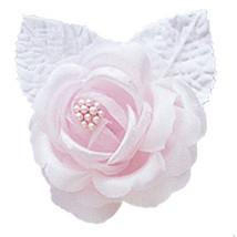 12 silk roses wedding favor flower corsage pink - $7.72
